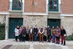Validadores de entornos de Asprodes trabajan junto a compañeros de otras asociaciones de Plena inclusión Castilla y León en la accesibilidad de dos museos